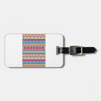 Wellcoda Asian Style Pattern Indian Look Luggage Tag