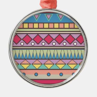 Wellcoda Asian Style Pattern Indian Look Metal Ornament