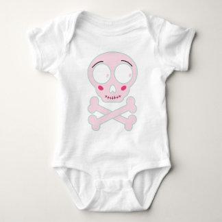 Wellcoda Baby Skull Dangerous Cute Little Baby Bodysuit