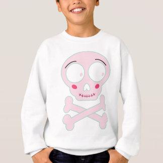 Wellcoda Baby Skull Dangerous Cute Little Sweatshirt