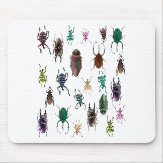 Wellcoda Beetle Type Habitat Insect Life Mouse Pad