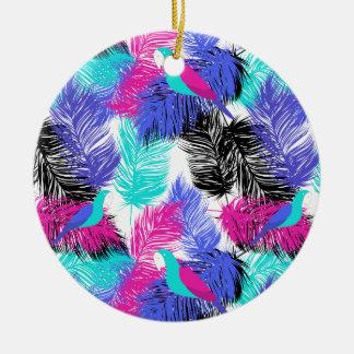 Wellcoda Bird Of Paradise Life Parrot Fun Ceramic Ornament