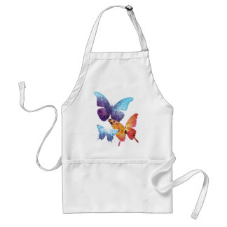 Wellcoda Butterfly Nature Love Beauty Life Adult Apron