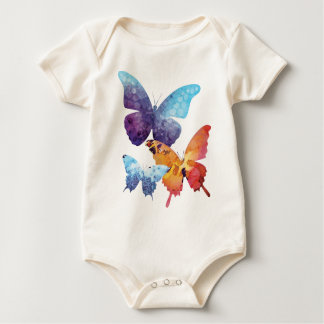 Wellcoda Butterfly Nature Love Beauty Life Baby Bodysuit