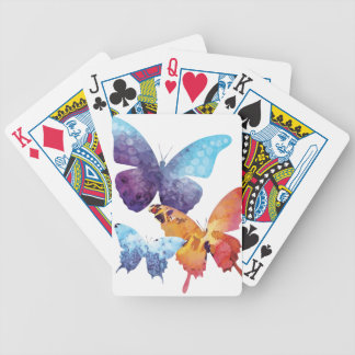 Wellcoda Butterfly Nature Love Beauty Life Bicycle Playing Cards