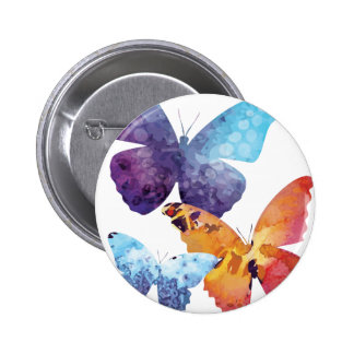 Wellcoda Butterfly Nature Love Beauty Life Button