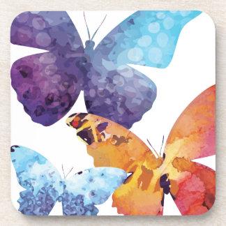 Wellcoda Butterfly Nature Love Beauty Life Coaster