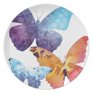 Wellcoda Butterfly Nature Love Beauty Life Dinner Plate