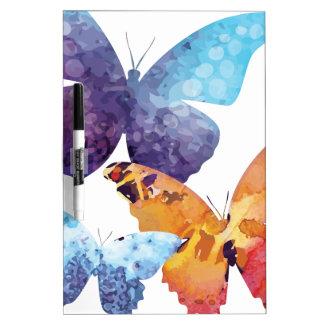 Wellcoda Butterfly Nature Love Beauty Life Dry Erase Board