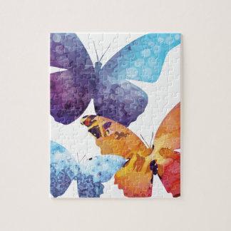 Wellcoda Butterfly Nature Love Beauty Life Jigsaw Puzzle