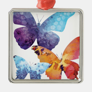 Wellcoda Butterfly Nature Love Beauty Life Metal Ornament