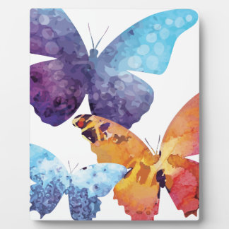 Wellcoda Butterfly Nature Love Beauty Life Plaque
