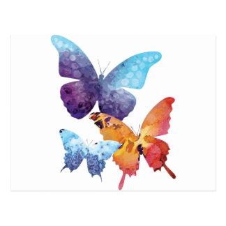 Wellcoda Butterfly Nature Love Beauty Life Postcard