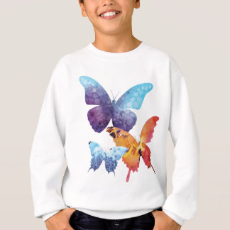 Wellcoda Butterfly Nature Love Beauty Life Sweatshirt