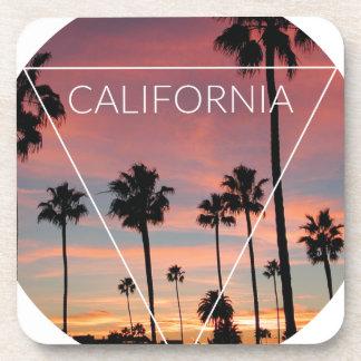 Wellcoda California Palm Beach Sun Spring Coaster