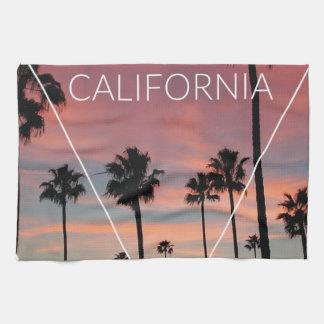 Wellcoda California Palm Beach Sun Spring Kitchen Towels