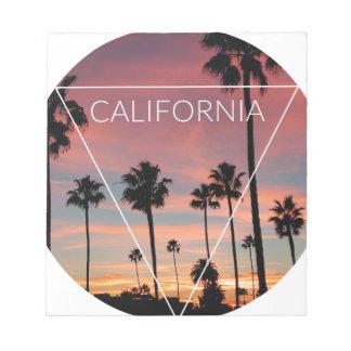 Wellcoda California Palm Beach Sun Spring Notepad
