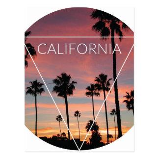 Wellcoda California Palm Beach Sun Spring Postcard