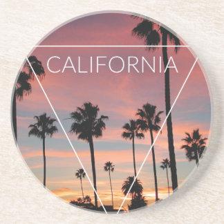 Wellcoda California Palm Beach Sun Spring Sandstone Coaster