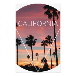 Wellcoda California Palm Beach Sun Spring Stationery