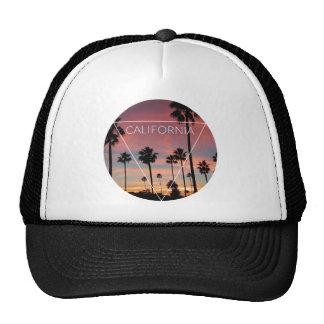 Wellcoda California Palm Beach Sun Spring Trucker Hat