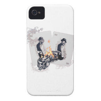 Wellcoda Casino Play Fire Dice Hustler iPhone 4 Case