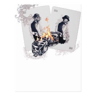 Wellcoda Casino Play Fire Dice Hustler Postcard