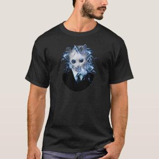 Wellcoda Cat Suit Smoke Weird Animal Pet T-Shirt