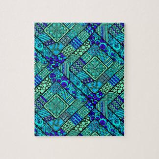 Wellcoda Chinese Style Pattern Crazy Vibe Jigsaw Puzzle