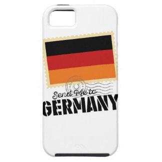 Wellcoda Classic Germany Flag World Map iPhone SE/5/5s Case