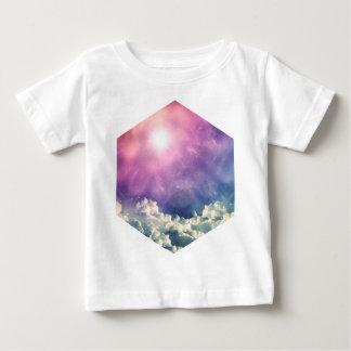 Wellcoda Cloud Sky Hexagon Love Shape Fun Baby T-Shirt