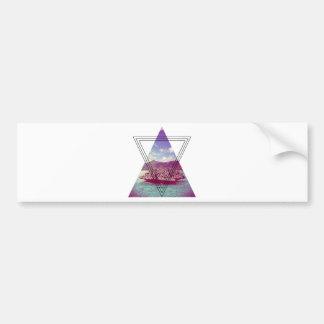 Wellcoda Coral Island Holiday Summer Fun Bumper Sticker