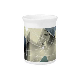 Wellcoda Crazy Abstract Print Geometric Beverage Pitcher