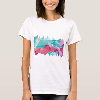 Wellcoda Crazy Abstract Shape Future Life T-Shirt