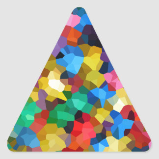 Wellcoda Crazy Colour Ball Pool Candy Life Triangle Sticker