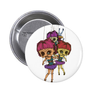 Wellcoda Creepy Freaky Doll Bad Life Toy Button