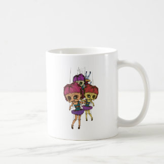 Wellcoda Creepy Freaky Doll Bad Life Toy Coffee Mug