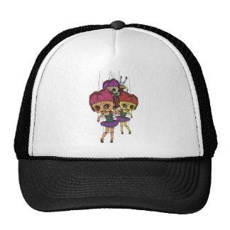 Wellcoda Creepy Freaky Doll Bad Life Toy Trucker Hat