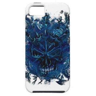 Wellcoda Creepy Horror Skull Scary Mask iPhone SE/5/5s Case