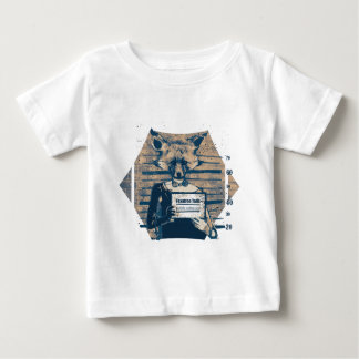 Wellcoda Criminal Fox Crime Offender Foxy Baby T-Shirt