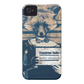Wellcoda Criminal Fox Crime Offender Foxy Case-Mate iPhone 4 Cases