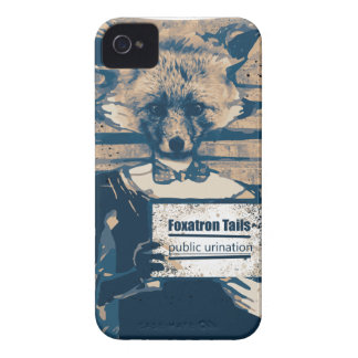Wellcoda Criminal Fox Crime Offender Foxy iPhone 4 Case