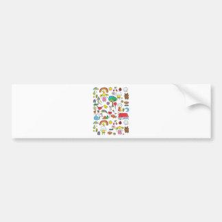 Wellcoda Cute Little Kids Dream Love Life Bumper Sticker