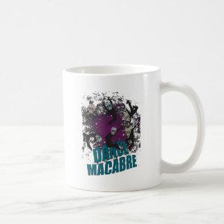 Wellcoda Dance Macabre Skull Happy Crazy Coffee Mug