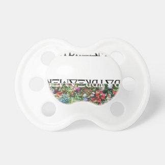 Wellcoda Day Dreamer Contrast Flower Life Pacifier