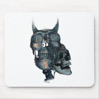 Wellcoda Devil Skull Head Evil Skeleton Mouse Pad