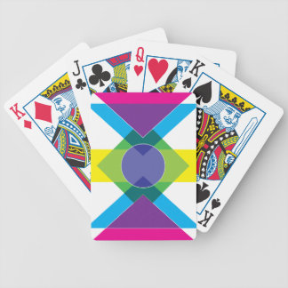 Wellcoda DJ Summer Crazy Vibe Colour Life Bicycle Playing Cards