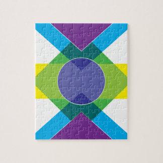 Wellcoda DJ Summer Crazy Vibe Colour Life Jigsaw Puzzle
