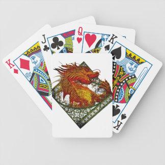 Wellcoda Dragon Fantasy Beast Oriental Bicycle Playing Cards