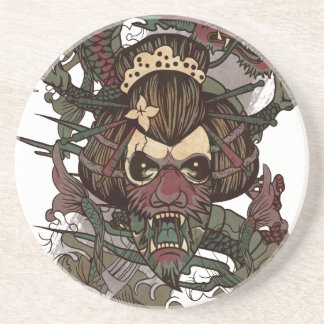 Wellcoda Dragon Ornament Freaky Monster Drink Coaster